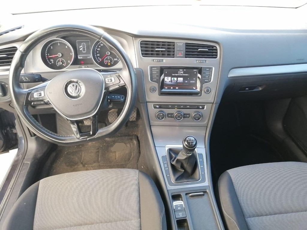 Foto 5 VOLKSWAGEN GOLF 1. 6 TDI 110CV  BUSINESS BLUEMOTION NAVI